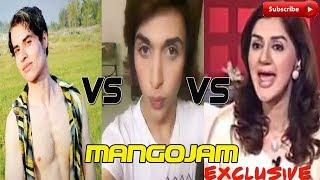 Nasir Khan Jan vs Ayesha Sana vs Nouman Khan Hilarious Funny Video