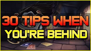 ✔ 30 Tips on playing League of Legends When You