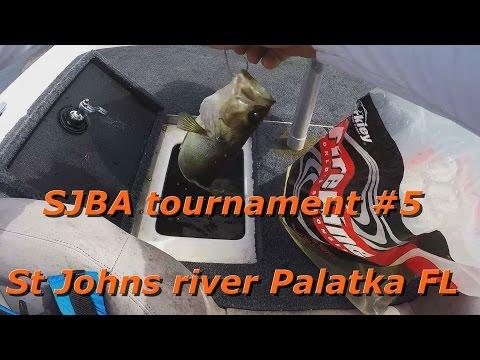 SJBA tournament #5 St  Johns river Palatka FL