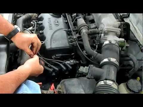 1999 Hyundai Accent Ignition Coil Change Pt 2