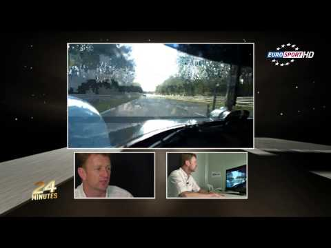 Le Mans one lap with Allan McNish