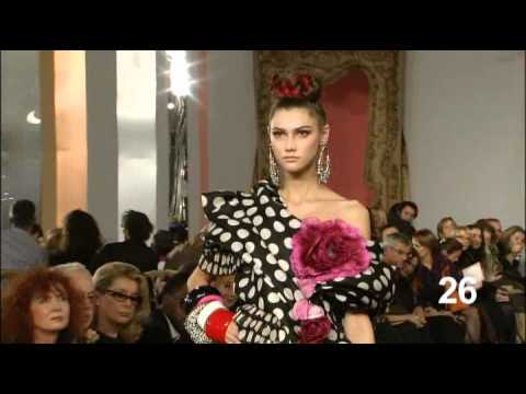 2009 Christian Lacroix Haute Couture Spring-Summer Fashion Show