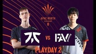 FNATIC vs FAV Gaming // Rainbow Six APAC League 2021 - North Division Stage 1 - Playday 2