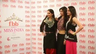 fbb Femina Miss India 2016 Lucknow winners visit fbb store