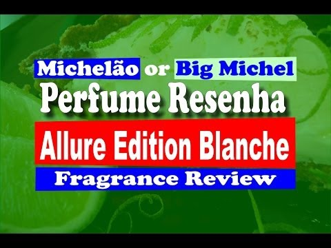 Perfume Allure Edition Blanche Fragrance Cologne Review - with subtitles