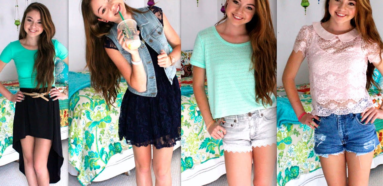 Back to School Outfits of the Week! - YouTube