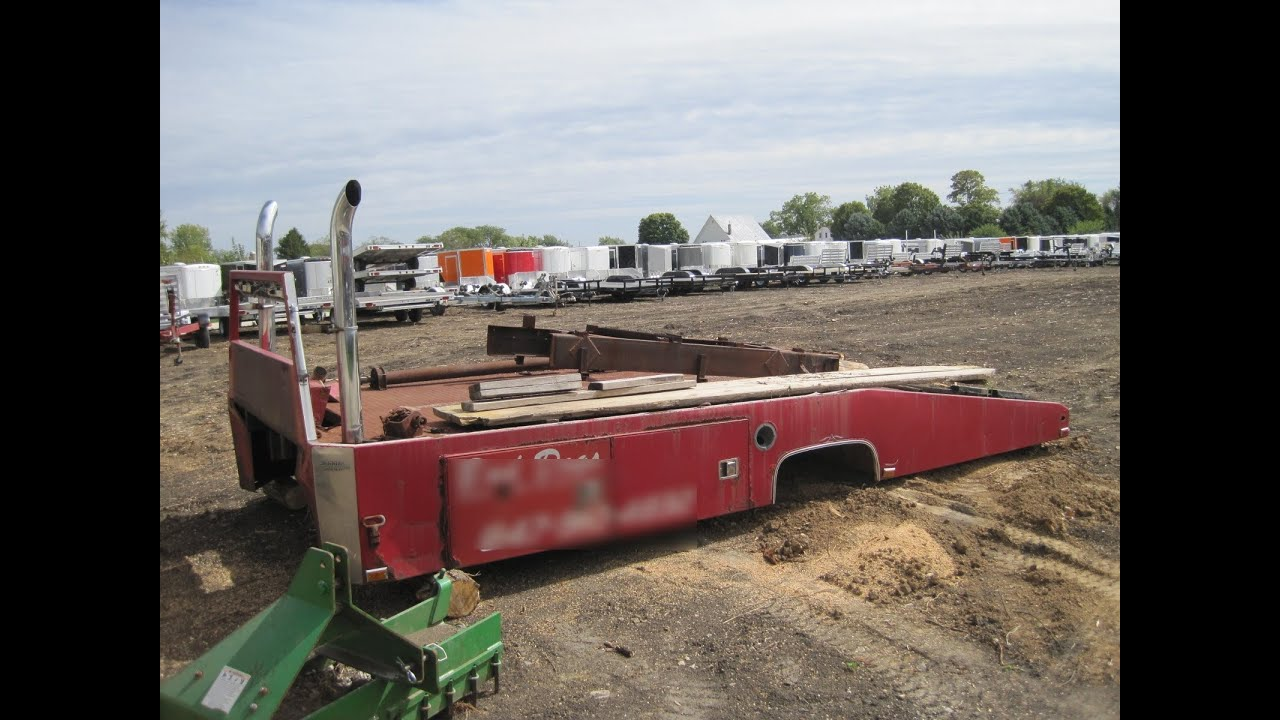 Wedge Truck Bed For Sale