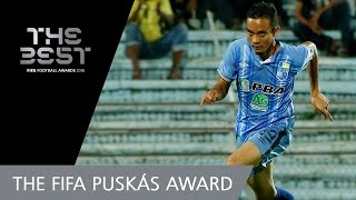 Mohd Faiz Subri (MAS) - FIFA PUSKAS AWARD 2016 NOMINEE