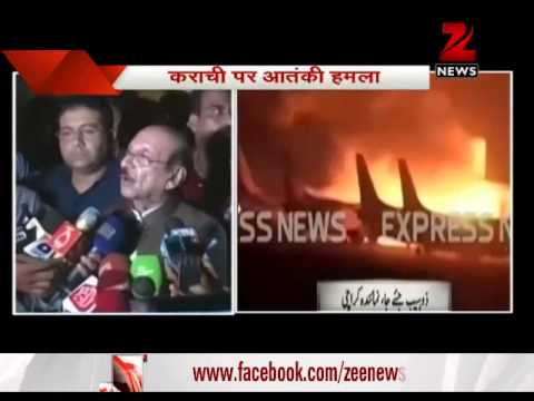 Zee News' special coverage on Karachi airport terror attack