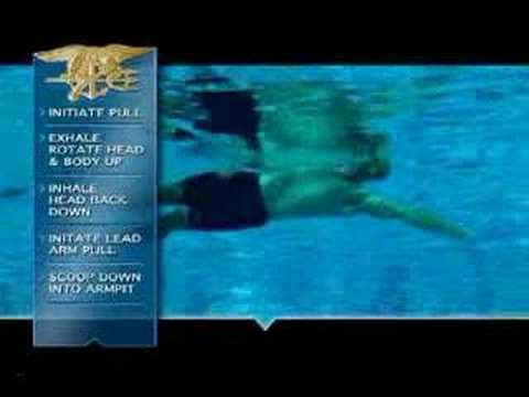 US Navy SEALs Combat Swim