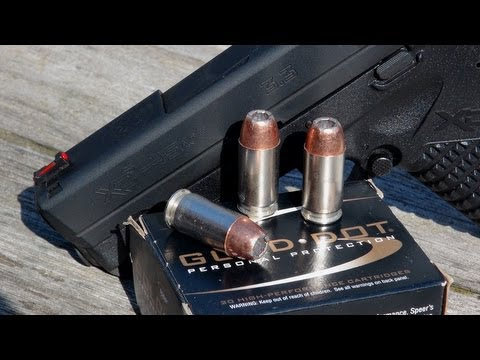 .45 ACP SHORT BARREL TEST:  230 gr Speer Gold Dot
