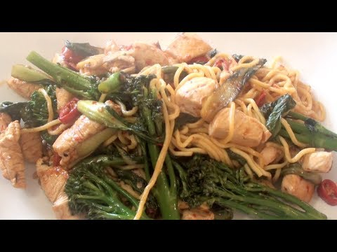 Chicken and Noodles Stir Fry