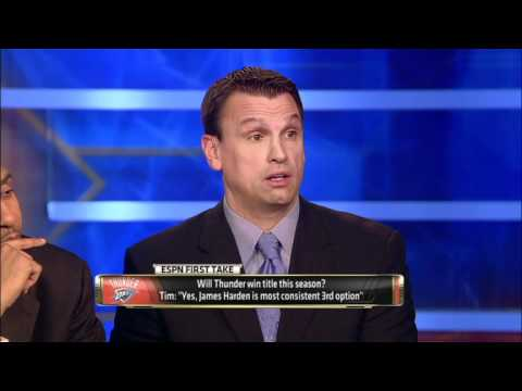 ESPN First Take: Will Thunder Win NBA Title?