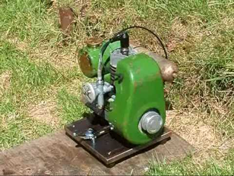 Jap Model O Type 2 34cc Two Stroke Engine Youtube