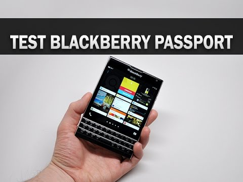 Test du BlackBerry Passport - par Test-Mobile.fr