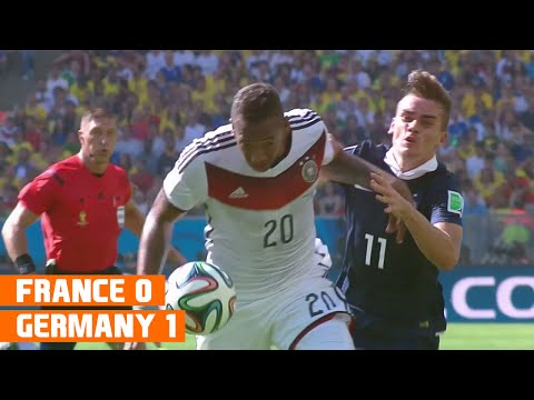 France vs Germany (0-1) World Cup 2014 Highlights