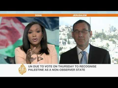 Mark Regev discusses Palestinian UN bid
