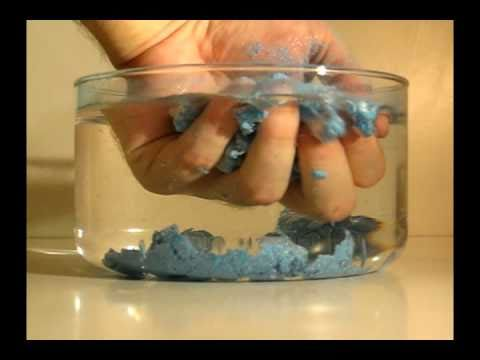 Magic sand / Moon sand (hydrophobic sand)
