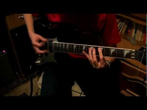 As I Lay Dying - Confined (Guitar Cover)