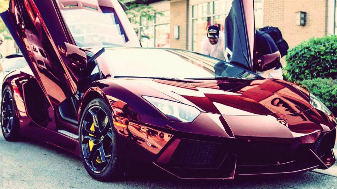 LAMBORGHINI BORDEAUX AVENTADOR FIRST VIDEO YouTube