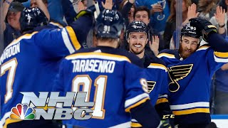 NHL Stanley Cup Playoffs 2019: Sharks vs. Blues | Game 4 Extended Highlights | NBC Sports
