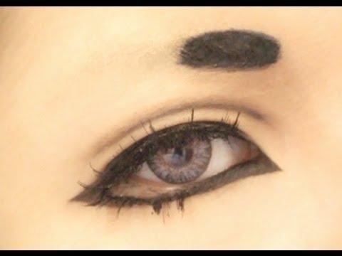 Anime Eyes Makeup Cosplay Tutorial Anime Eye Makeup 8