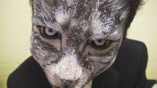 キャットメイク方法(化粧)Cat Makeup Tutorial
