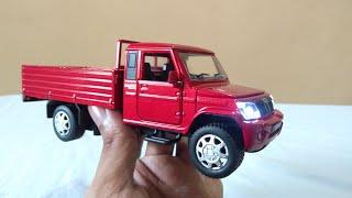 Mahindra bolero pick-up unboxing.toy car unboxing.