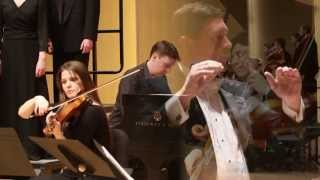 Ola Gjeilo with the CWU Chamber Choir: The Ground - In the Moment (3 of 4)