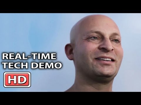 Impressive Real-Time Character Tech Demo by Activision (GDC 2013)