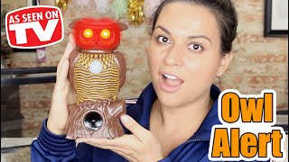 Owl Alert Review - Testing As Seen on Tv Products