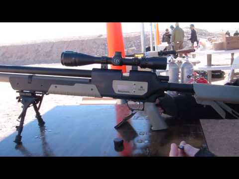 Benjamin Rogue .357 shooting at Shot Show 2013