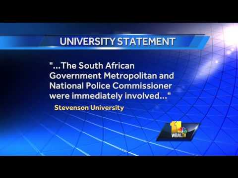 Stevenson students robbed on South Africa study abroad trip
