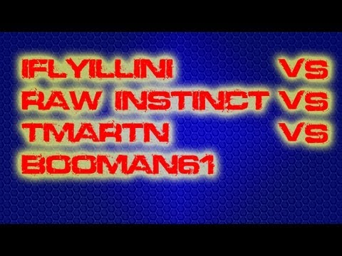 IFLYILLINI vs RAW INSTINCT vs TMARTN vs BOOMAN61