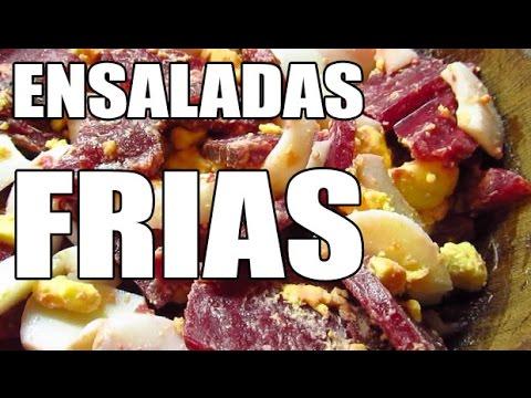 Ensaladas frias comidas rapidas faciles y saludables - Comidas baratas y rapidas ...