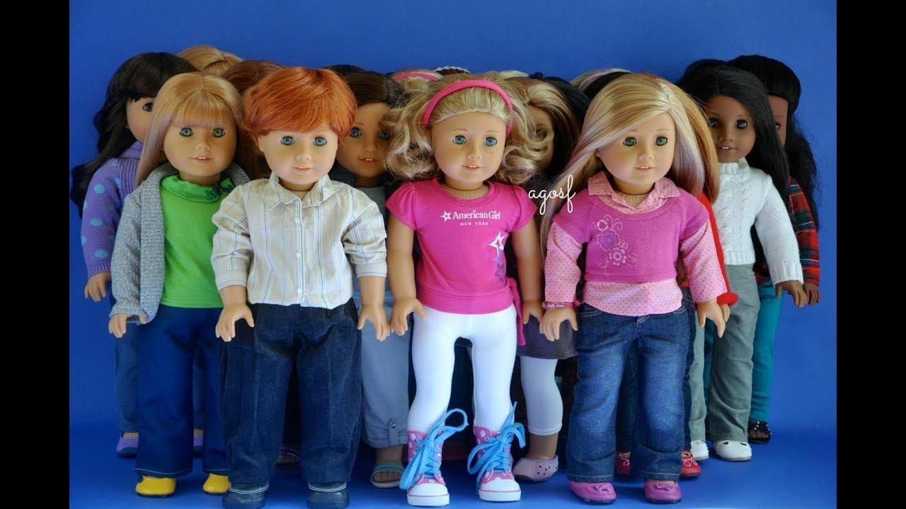 american girl doll vs journey girl doll   youtube