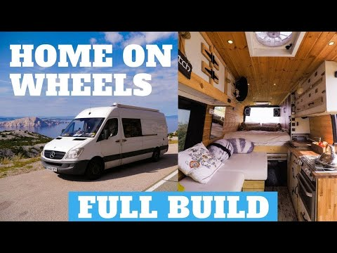 Make a Van a Home! - Step by Step Full Van Conversion Video