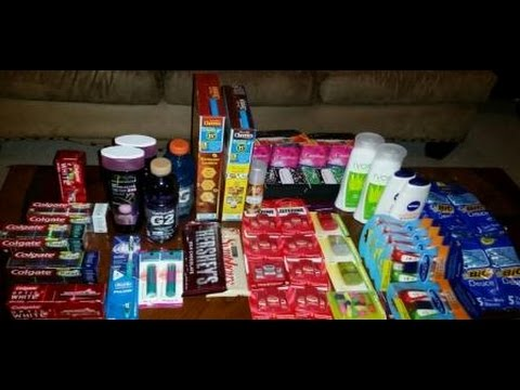 CVS, Walgreens, DG, Dollar Tree, Family Dollar Couponing Haul (8/30/15)