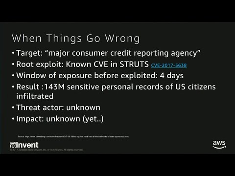 AWS re:Invent 2017: Protecting your Web Application on AWS: Best Practices for Third (DEM24)