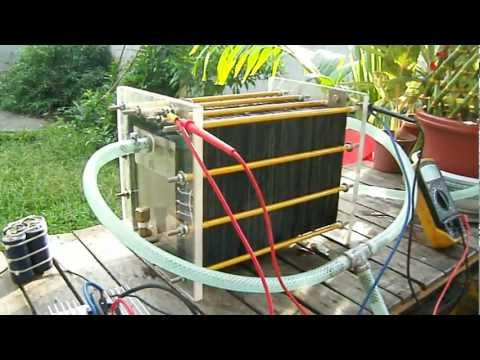 101 plates dry cell hho generator by limuel gemongala of digos city