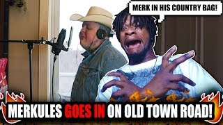 Merkules - ''Old Town Road Remix'' (Lil Nas X & Billy Ray Cyrus) REACTION!