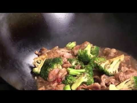 Chinese Spicy Beef And Broccoli-Brown Sauce