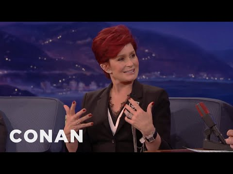 Sharon Osbourne On Donald Trump  - CONAN on TBS