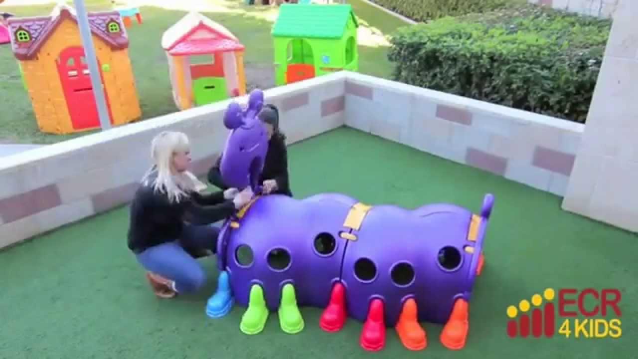 Outdoor Play Toys For Preschoolers : Kids outdoor toys ecr peek a boo caterpillar climbing