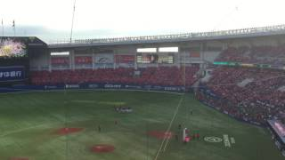 170701 ZOZOマリンスタジアム All for Chiba WE ARE CHIBA LOTTE + 夢花火