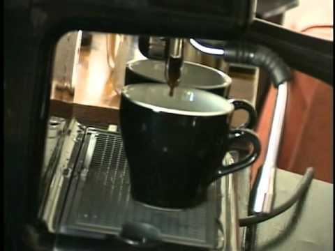 Making Espresso. Cappuccino and Latté with the Oscar Professional by Nuova Simonelli