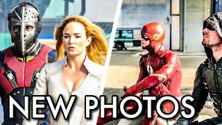 "Download ""Crisis On Earth X"" New Photos !!! Captain Cold ! Massive Team-up !!! Flash 4x08 ! Arrow 6x08 | CW 3Gp Mp4"