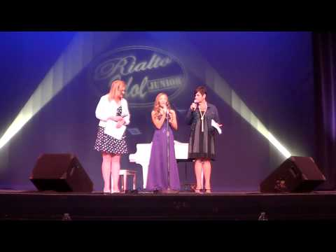 ... Junior Idol in Rialto Square Theatre where she sang Tonight and Time