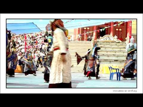 Postcard without Word - Kalmyk Tsam Festival