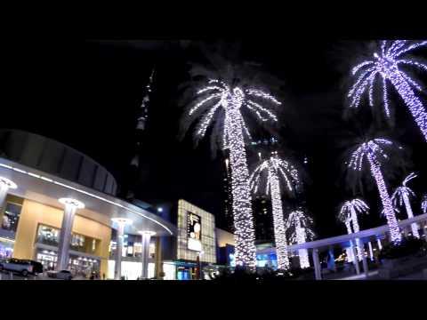 Dubai night-fountain
